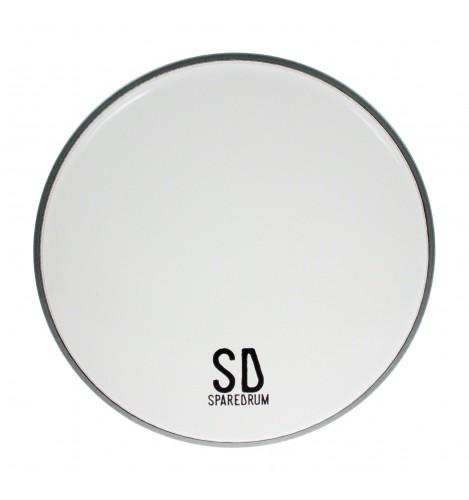 "AS08SW - 8"" Alverstone 1-ply Smooth White Drumhead - 10 mil"