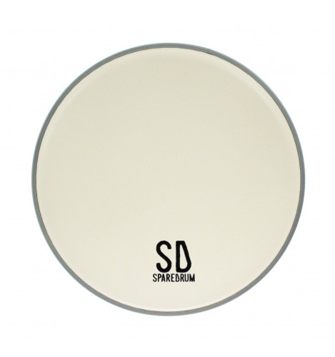 """AS12CO - 12"""" Alverstone 1-ply Coated Drumhead - 10 mil"""