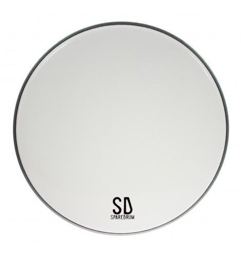 "AS13SW - 13"" Alverstone 1-ply Smooth White Drumhead - 10 mil"