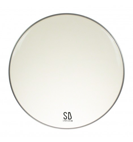 """AS16CL - 16"""" Alverstone 1-ply Clear Drumhead - 10 mil"""