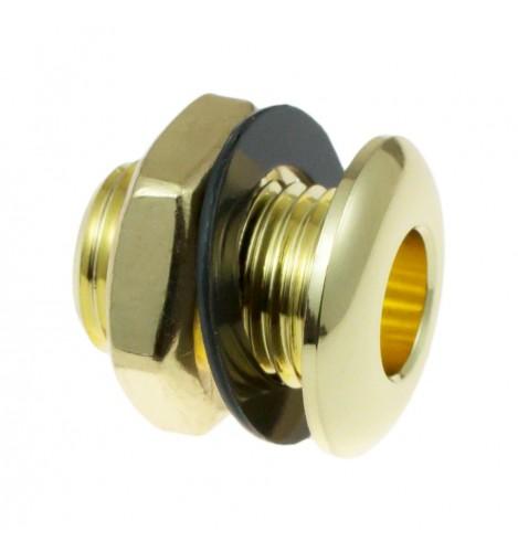 AVH2-BR - Die Cast Air Vent Grommet Brass 20mm