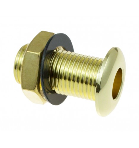 AVH3-BR - Die Cast Air Vent Grommet Brass 30mm