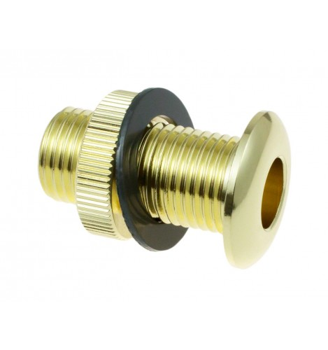 AVH4-BR - Die Cast Air Vent Grommet Brass 30mm