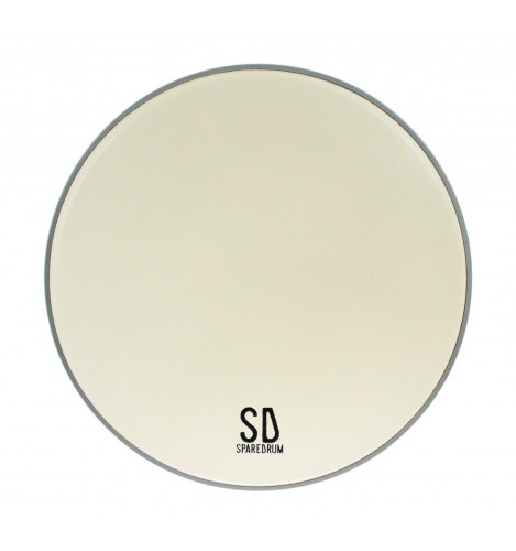 """EV13CO - 13"""" Everest 2-ply Coated Drumhead - 7.5 / 5 mil"""