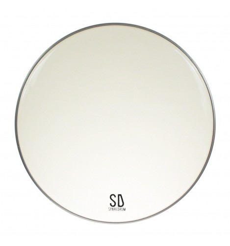 """EV16CL - 16"""" Everest 2-ply Clear Drumhead - 7.5 / 5 mil"""