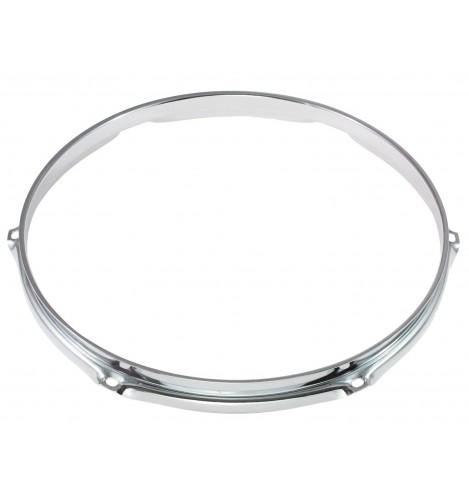 """H16-10-6 - 10"""" 6 Holes 1.6mm Triple Flange Drum Hoop"""