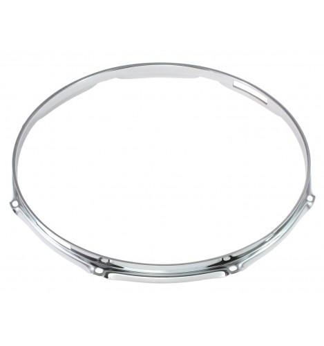 """H16-13-8S - 13"""" 8 Holes Snare Side 1.6mm Triple Flange Drum Hoop"""