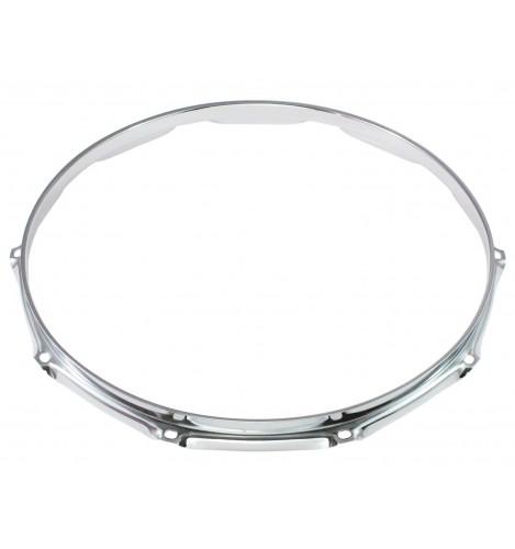 """H16-14-10 - 14"""" 10 Holes 1.6mm Triple Flange Drum Hoop"""