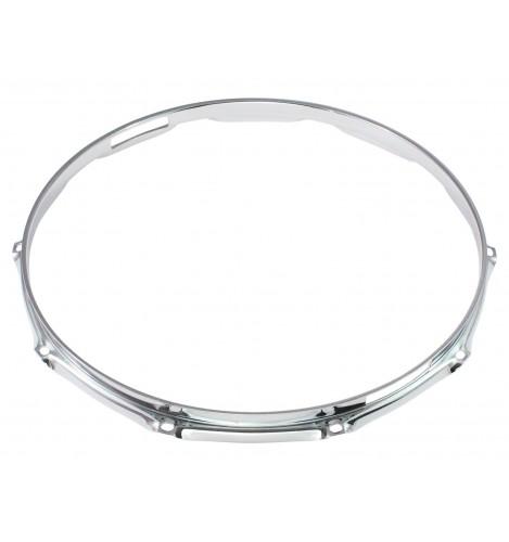 """H16-14-10S - 14"""" 10 Holes Snare Side 1.6mm Triple Flange Drum Hoop"""