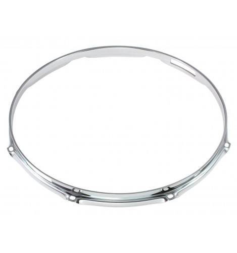 """H16-14-8S - 14"""" 8 Holes Snare Side 1.6mm Triple Flange Drum Hoop"""