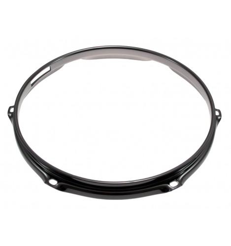 """H23-10-6S-BK - 10"""" 6 Holes Snare Side Black 2.3mm Super Triple Flange Drum Hoop"""