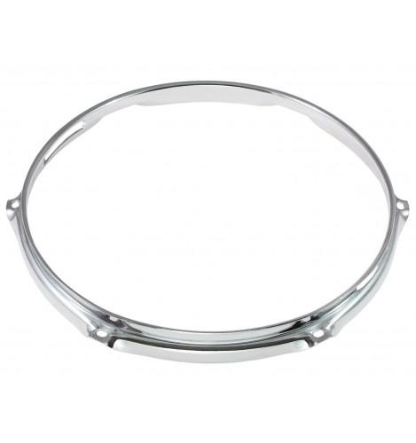 """H23-12-6S - 12"""" 6 Holes Snare Side 2.3mm Super Triple Flange Drum Hoop"""