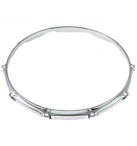 """H23-14-10 - 14"""" 10 Holes 2.3mm Super Triple Flange Drum Hoop"""