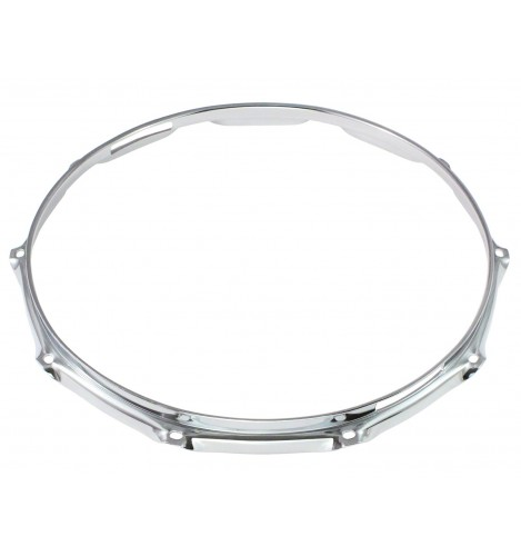 """H23-14-10S - 14"""" 10 Holes Snare Side 2.3mm Super Triple Flange Drum Hoop"""