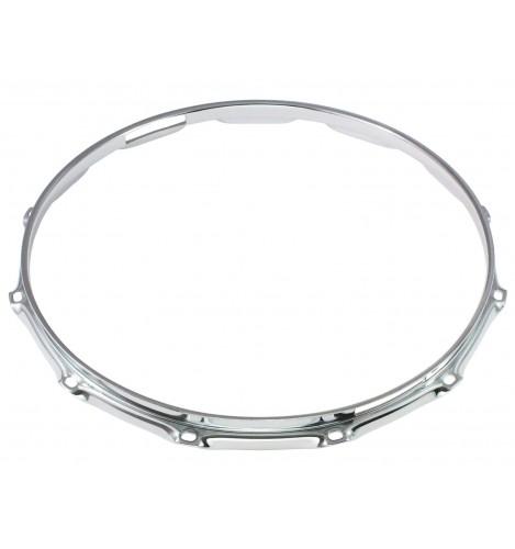 """H23-14-12S - 14"""" 12 Holes Snare Side 2.3mm Super Triple Flange Drum Hoop"""