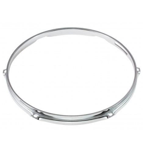 """H23-14-6S - 14"""" 6 Holes Snare Side 2.3mm Super Triple Flange Drum Hoop"""