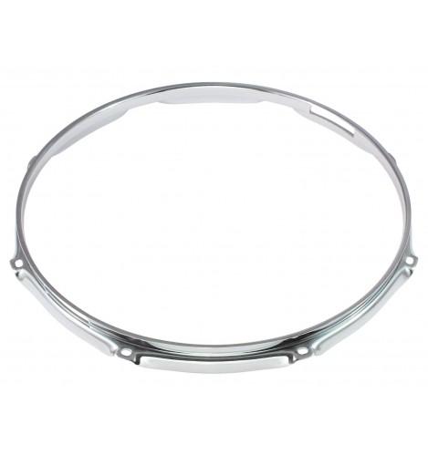 """H30-14-8S - 14"""" 8 Holes Snare Side 3.0mm Super Triple Flange Drum Hoop"""