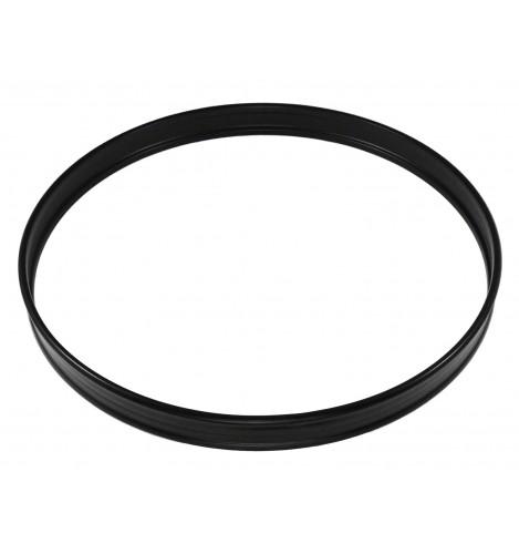 """HBS-18BL - 18"""" Black Steel Bass Drum Hoop"""