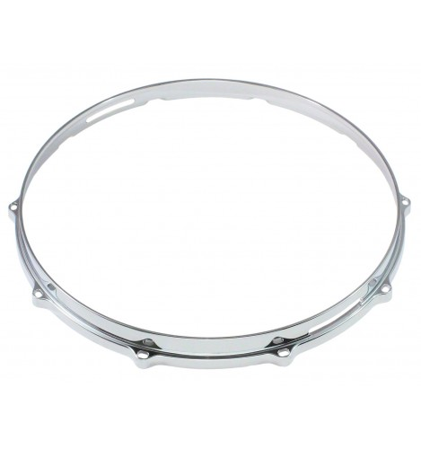"""HDC3-14-10S - 14"""" 10 Holes Snare Side 3mm Die Cast Drum Hoop"""
