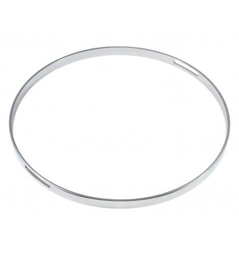 "HNF45-12S - 12"" Snare Side 4.5mm Straight / No Flange Drum Hoop"