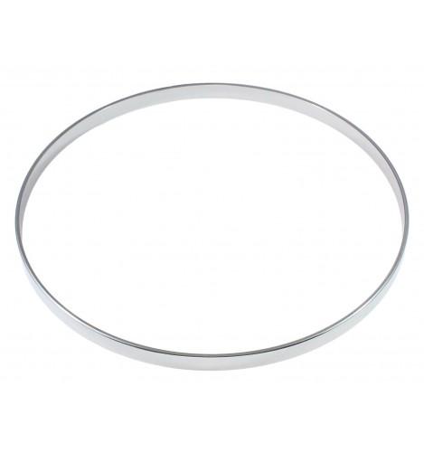 """HNF45-16 - 16"""" 4.5mm Straight / No Flange Drum Hoop"""