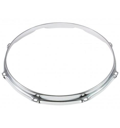 """HS23-12-8 - 12"""" 8 Holes 2.3mm S-Style Triple Flange Drum Hoop"""