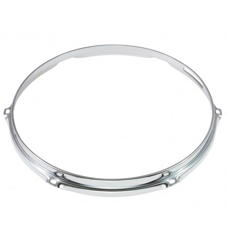 "HS23-13-6S - 13"" 6 Holes Snare Side 2.3mm S-Style Triple Flange Drum Hoop"