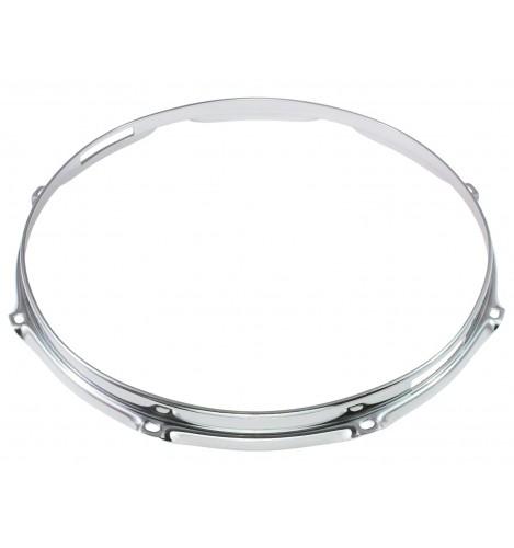"HS23-13-8S - 13"" 8 Holes Snare Side 2.3mm S-Style Triple Flange Drum Hoop"