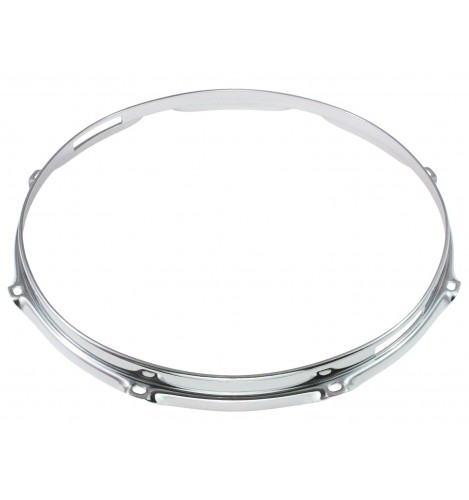 "HS23-14-8S - 14"" 8 Holes Snare Side 2.3mm S-Style Triple Flange Drum Hoop"