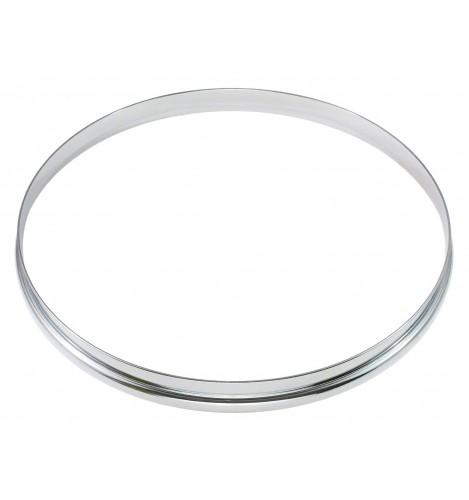 """HSF23-8 - 8"""" 2.3mm Single Flange Drum Hoop"""