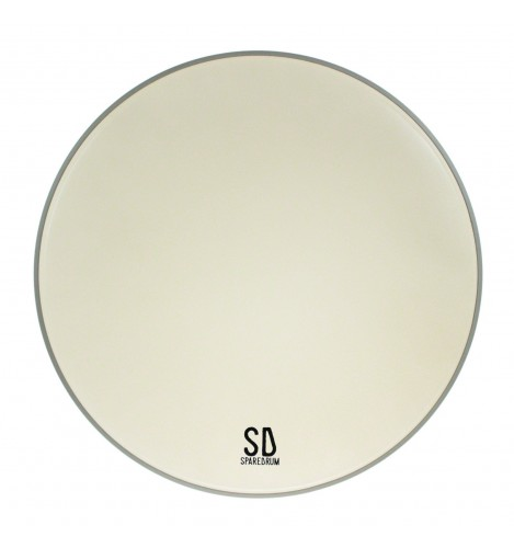 """MO16CO - 16"""" Monarch 1-ply Coated Drumhead - 7.5 mil"""