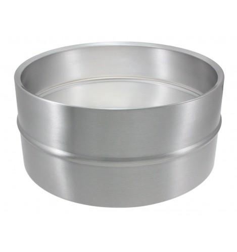 "SAL14065 - 14"" x 6.5"" Aluminum Beaded Shell - Snare Drum"