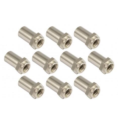 SN-HE-15S - Swivel Nut 15mm Hex Head - Steel (x10)