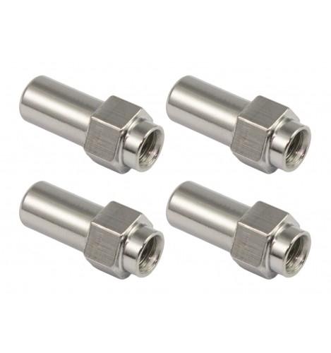 SN-HE-21B - Swivel Nut 21.5mm Hex Head - Brass (x4)
