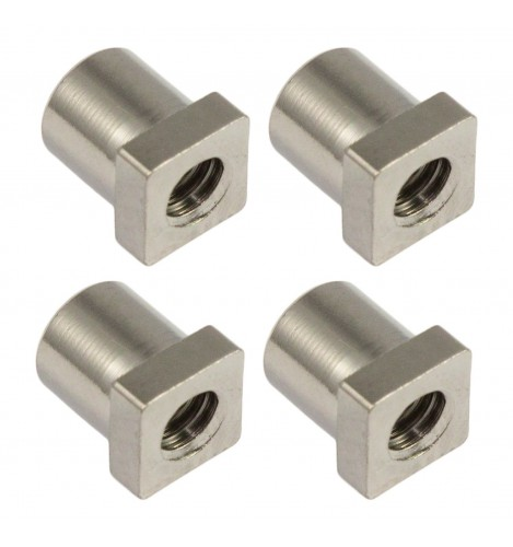 SN-SQ-10B - Swivel Nut 10mm Square Head - Brass (x4)