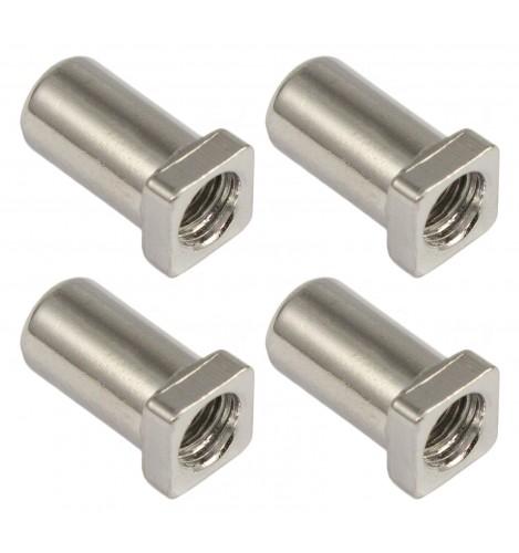 SN-SQ-15B - Swivel Nut 15mm Square Head - Brass (x4)