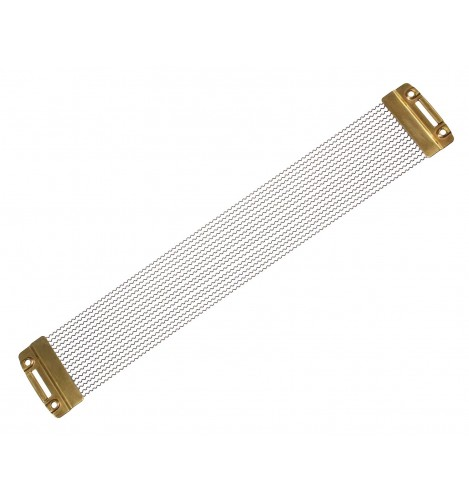 """SNW0816PBP - 8"""" 16 Strands Snare Wire - Phosphor Bronze End Plates"""