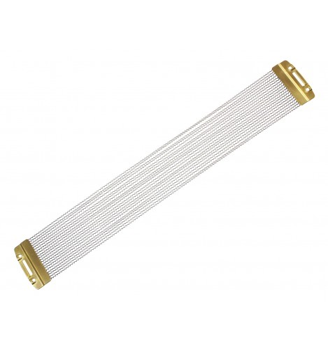 """SNW1520PBP - 15"""" 20 Strands Snare Wire - Phosphor Bronze End Plates"""