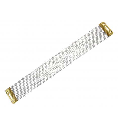 """SNW1620PBP - 16"""" 20 Strands Snare Wire - Phosphor Bronze End Plates"""