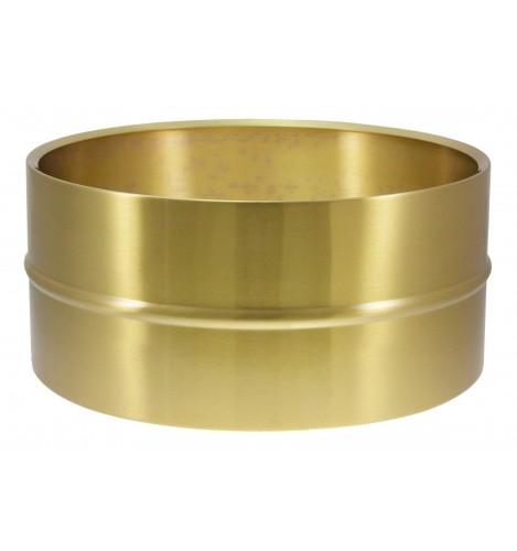 "SB14065 - 14"" x 6.5"" Brass Beaded Shell - Snare Drum"