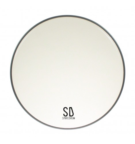 """FO15CL - 15"""" Foster Clear Resonant / Snare Side Drumhead - 1-ply - 3 mil"""