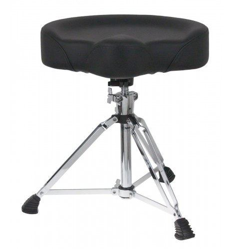 DTHS1 - Pro Drum Throne Saddle Shaped Double-Braced Legs