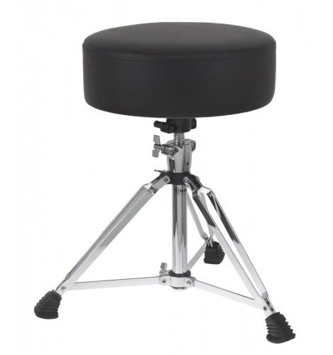 DTHR1 - Pro Round Drum Throne Double-Braced Legs