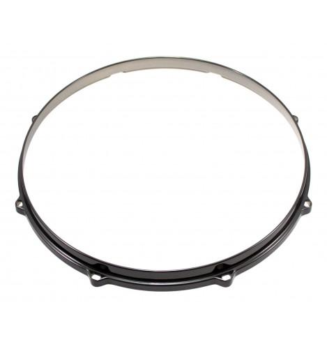 """HDC3-14-8BK - 14"""" 8 Holes Black 3mm Die Cast Drum Hoop"""