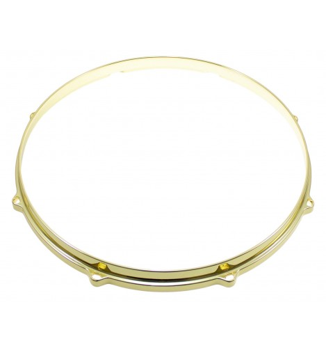 """HDC3-14-8BR - 14"""" 8 Holes Brass 3mm Die Cast Drum Hoop"""