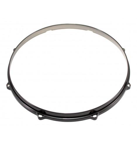 """HDC3-16-8BK - 16"""" 8 Holes Black 3mm Die Cast Drum Hoop"""