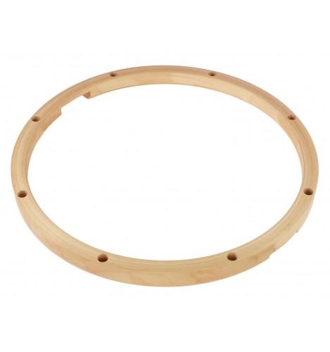 """HMY-12-8S - 12"""" 8 Holes Snare Side Maple Drum Hoop"""