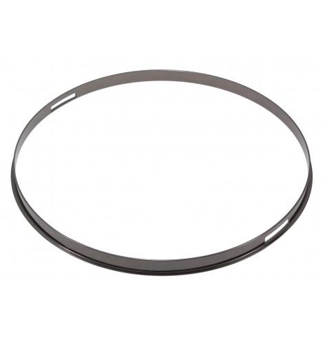 "HSFL23-13SBK - 13"" Snare Side Black 2.3mm Steel Single Flange Drum Hoop"