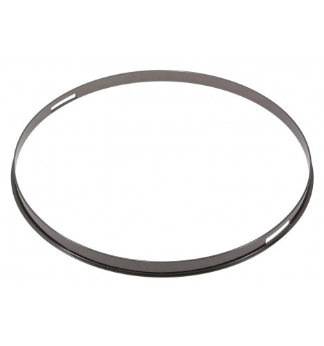 "HSFL23-14SBK - 14"" Snare Side Black 2.3mm Steel Single Flange Drum Hoop"